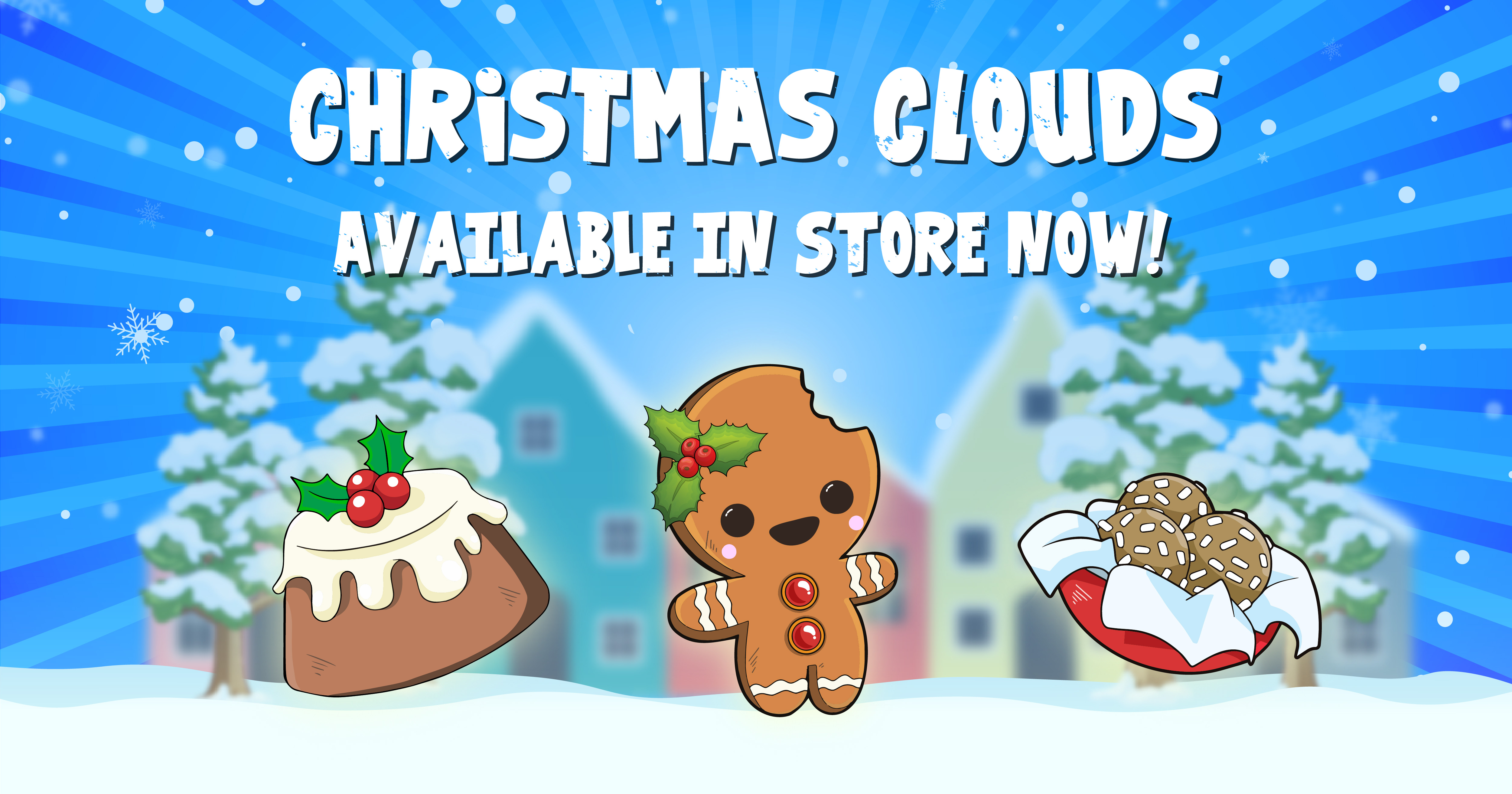 Christmas Clouds Image